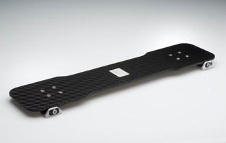 Snowboard plate